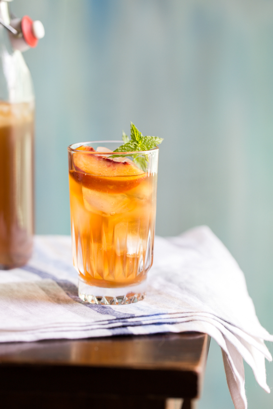 peach iced tea {Jelly Toast} | Emily Caruso (1 of 4)