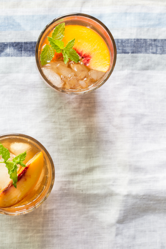 peach iced tea {Jelly Toast} | Emily Caruso (2 of 4)