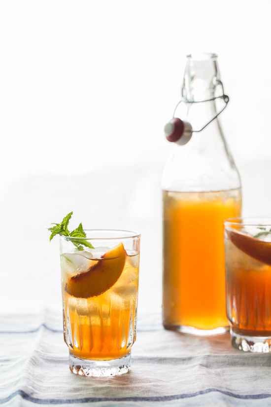 peach iced tea {Jelly Toast} | Emily Caruso (3 of 4)