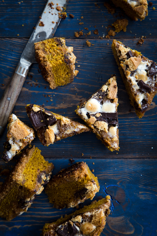 pumpkin smores bars (2 of 4)