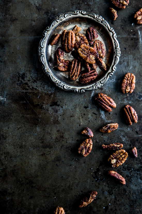 Rum Glazed Pecans #CaptainsTable
