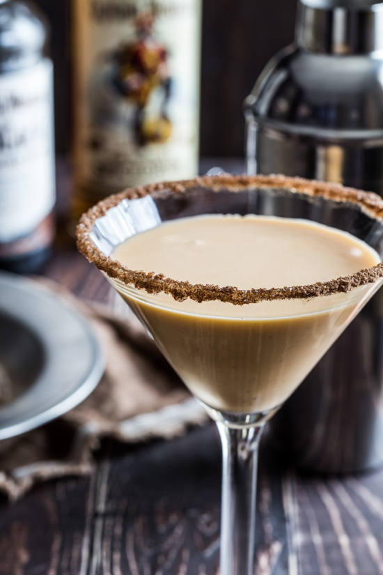 Pumpkin Eggnog Martini #CaptainsTable