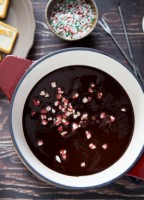 chocolate peppermint fondue-021