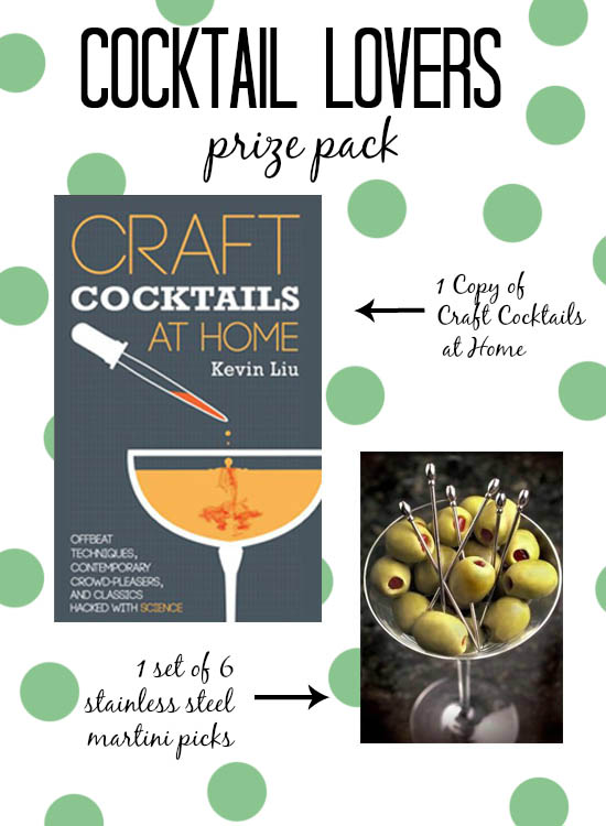 Gift guide for cocktail lovers a giveaway jelly toast for Craft cocktail gift set
