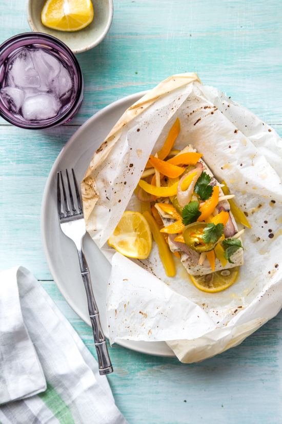 Barramundi en Papillote by Jelly Toast