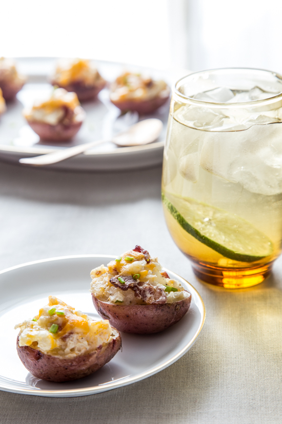 Twice Baked Potato Bites by Jelly Toast
