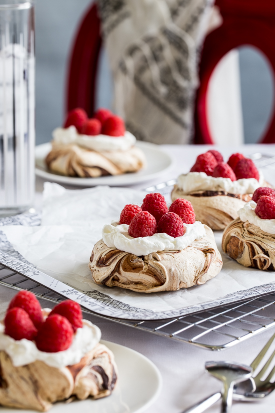 Chocolate And Cinnamon Swirl Meringues Recipes — Dishmaps
