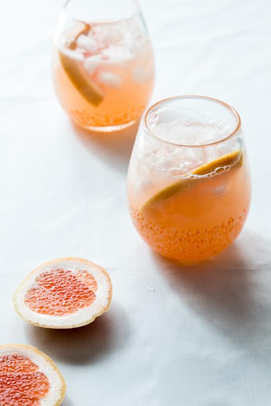 Grapefruit Mimosa by Jelly Toast