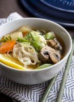 Asian Vegetable Soup by Jelly Toast