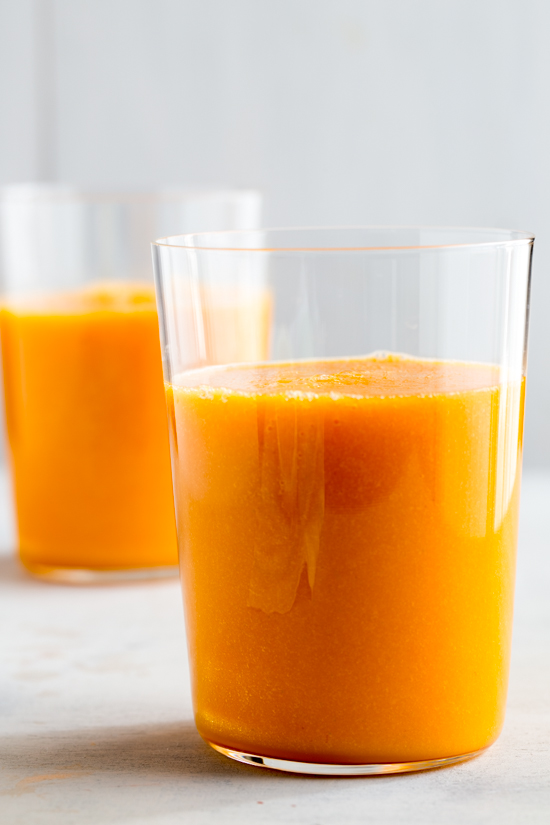 Carrot Breakfast Juice by Jelly Toast