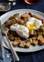 Oven Potato Hash and Eggs by Jelly Toast