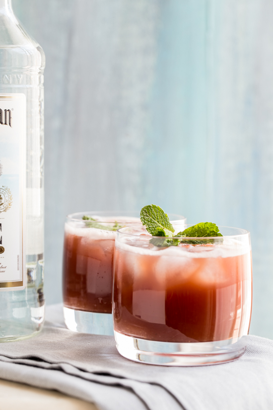 Watermelon Rum Punch by Jelly Toast