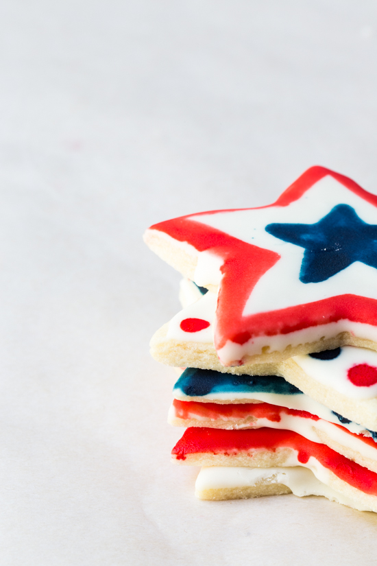 Flavor Painted Cookies with McCormick Food Color by Jelly Toast