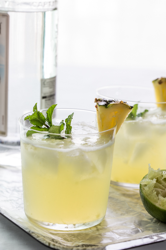 Pineapple Mojito by Jelly Toast