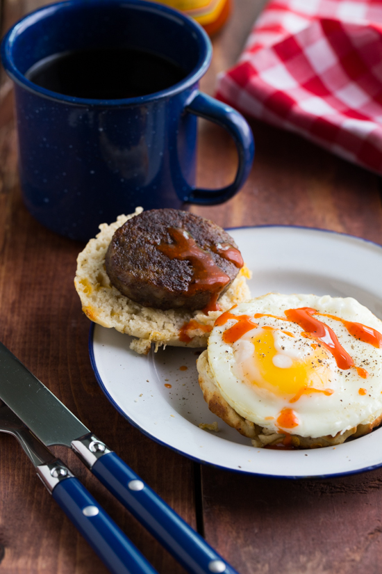 campfire breakfast burger by Jelly Toast #Burger Week