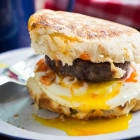 campfire breakfast burger #BurgerWeek