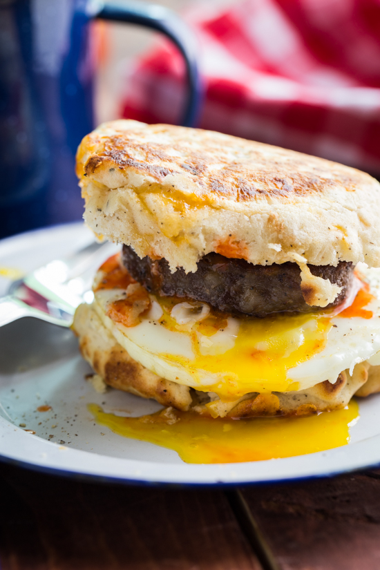 campfire breakfast burger by Jelly Toast #BurgerWeek