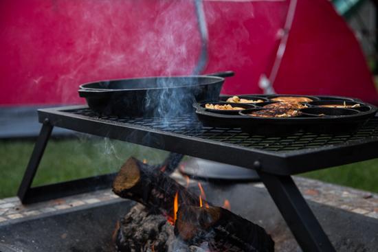 campfire breakfast burger by Jelly Toast #BurgerWeek