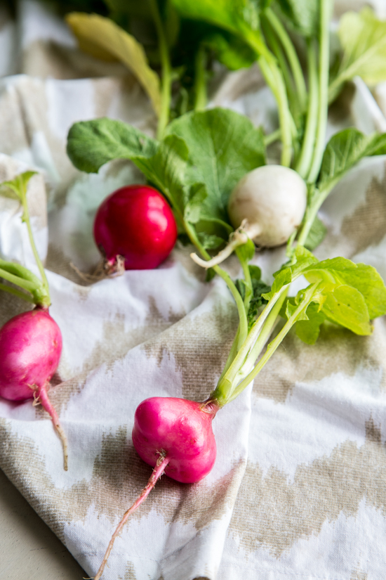radishes by Emily Caruso