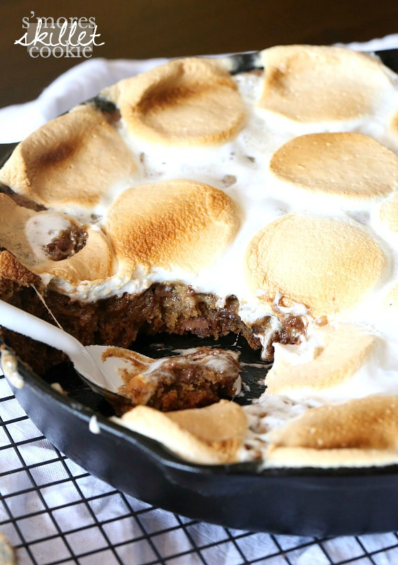 s'mores skillet by Cookies and Cups