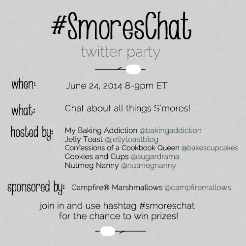 #SmoresChat Twitter Party
