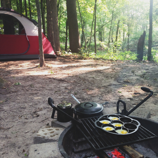 morning campsite by Emily Caruso
