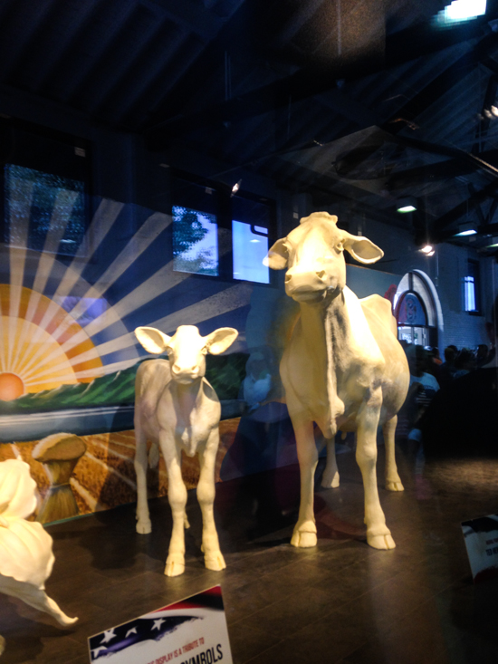 Butter Cow at the Ohio State Fair
