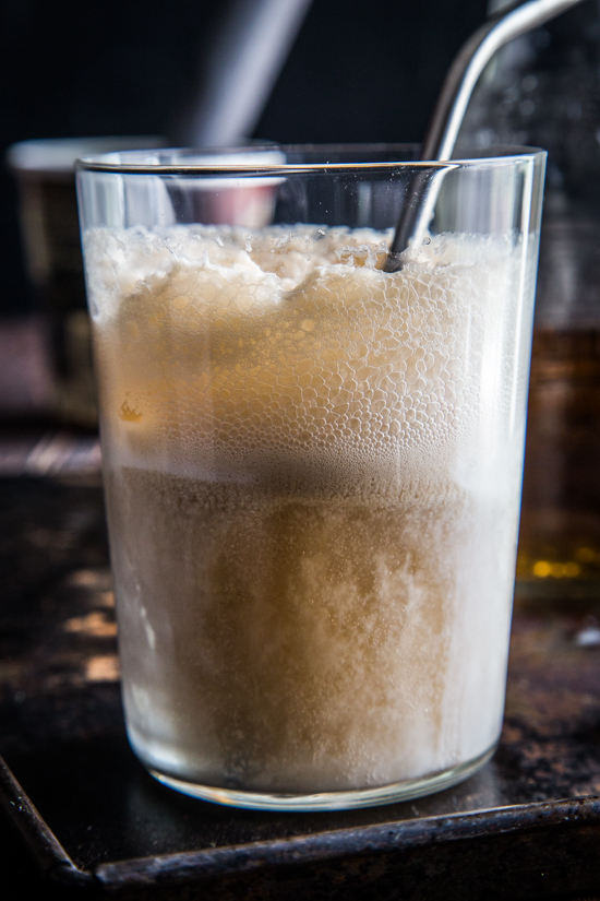Cream Soda Rum Float | www.jellytoastblog.com