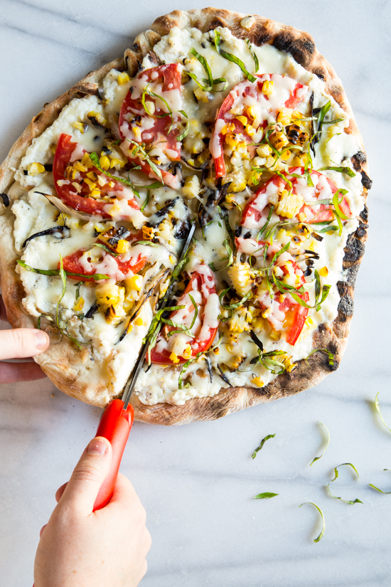 grizza | grilled vegetable pizza - Jelly Toast