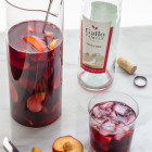 ginger plum sangria #SundaySupper