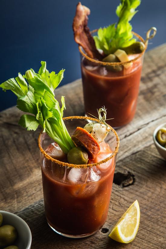Bloody Mary Bar | www.jellytoastblog.com