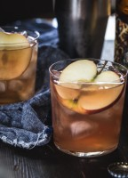 Cranberry Apple Cider Cocktail