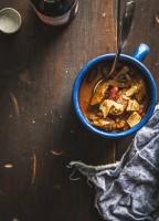 Slow Cooker Beef Chili | www.jellytoastblog.com