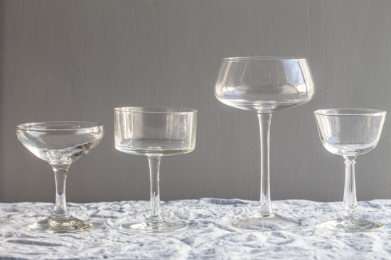 cocktail glasses| stemware | www.jellytoastblog.com