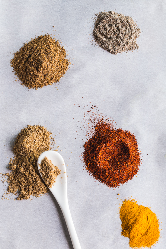 spices | photo by Emily Caruso