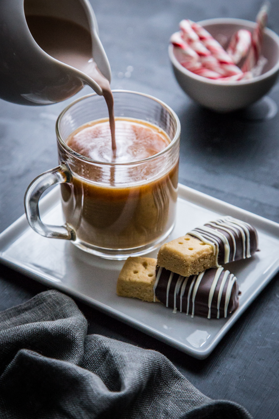 Peppermint Mocha Coffee Creamer | jellytoastblog.com