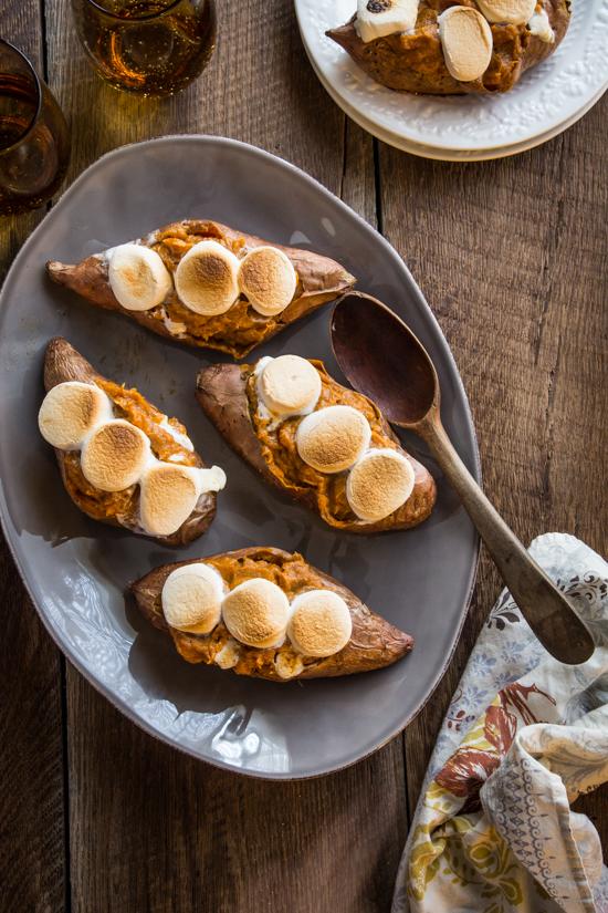 twice baked sweet potatoes - Jelly Toast