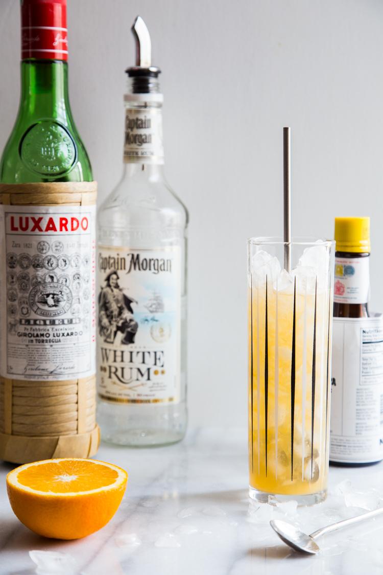 Rum Orange Swizzle | JellyToastBlog.com