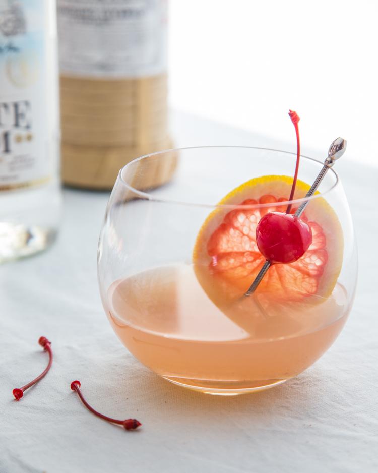 Broiled Grapefruit Daiquiri | JellyToastBlog.com