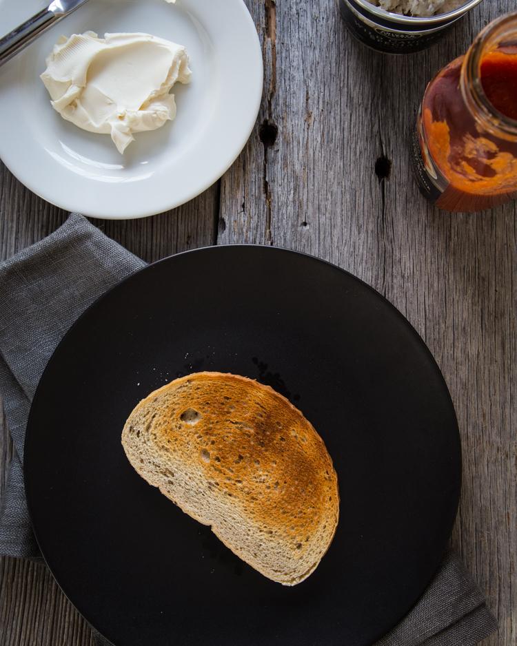 Crab Toast with Cream Cheese | JellyToastBlog.com
