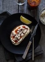 Crab Cream Cheese Toast | JellyToastBlog.com