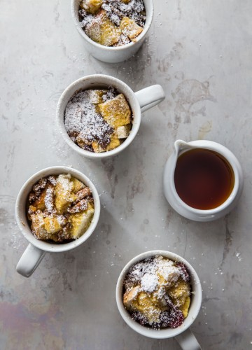 French Toast in a Mug | JellyToastBlog.com
