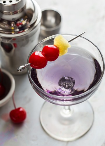 Little Tickle Cocktail | JellyToastBlog.com
