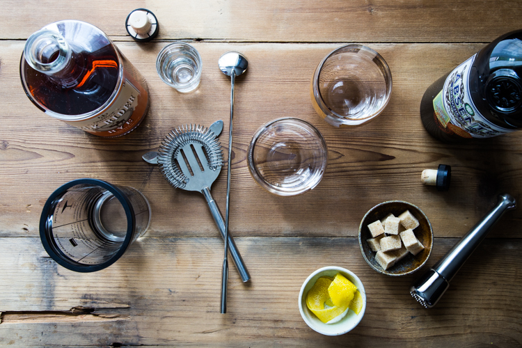 Sazerac Cocktail | JellyToastBlog.com