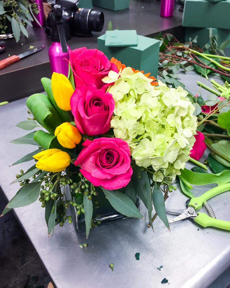 Flower Arranging | JellyToastBlog.com