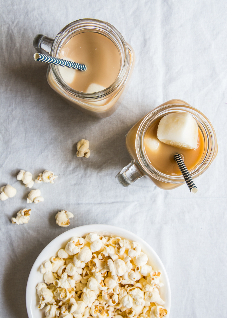 French Vanilla Iced Coffee | JellyToastBlog.com