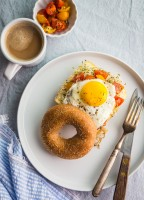Veggie Breakfast Sandwich | JellyToastBlog.com