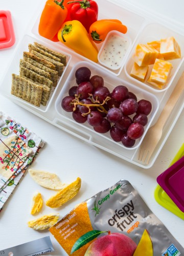 Lunchbox Ideas with Produce for Kids