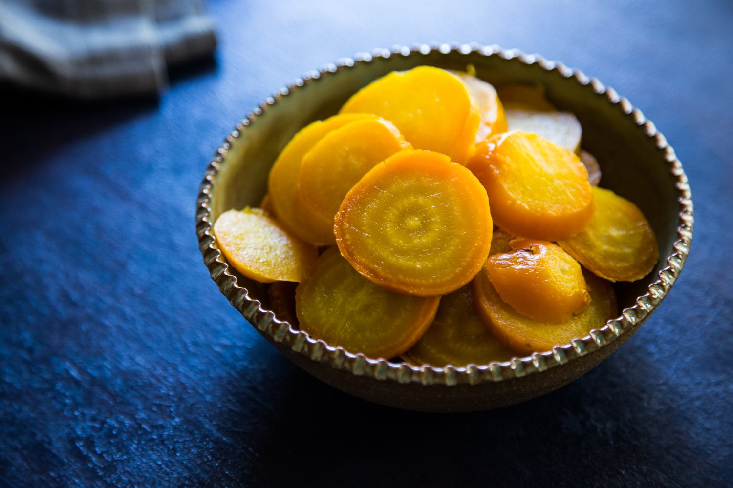 Roasted Golden Beets | Emily Caruso