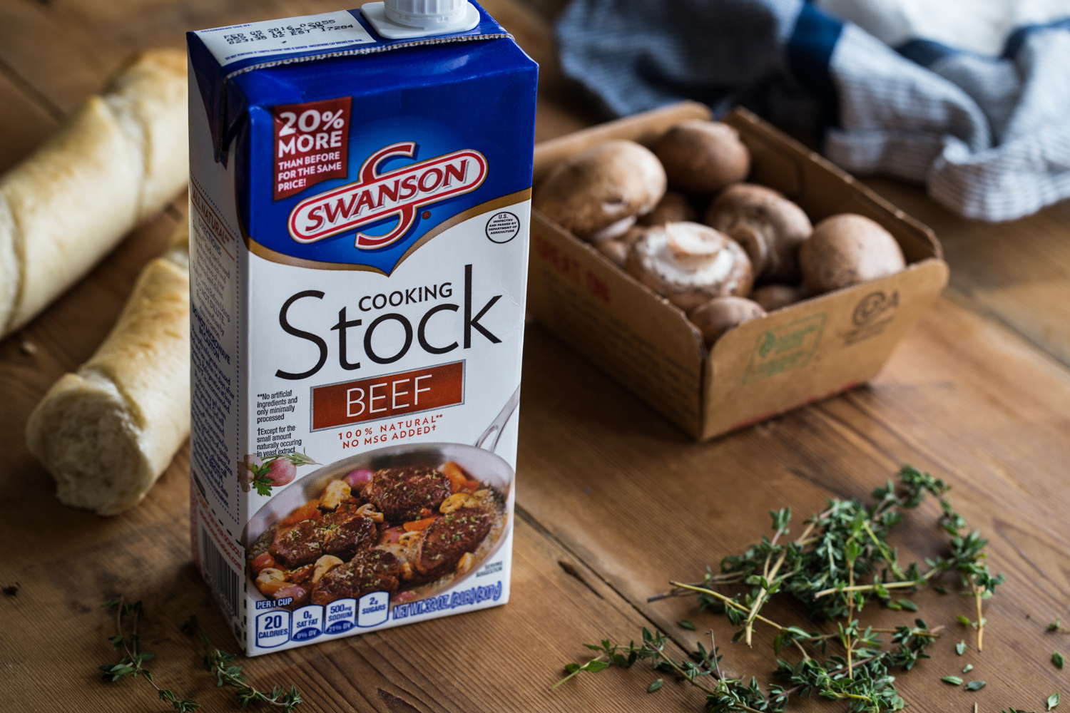 Swanson® beef cooking stock is the secret ingredient in these Beef Bourguignon Meatballs